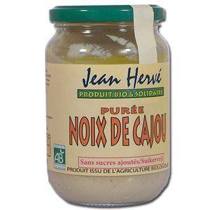 Jean Hervé Purée de Noix de Cajou bio 350g
