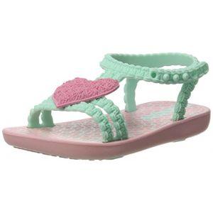 Ipanema My First Baby, Chaussures Bébé Marche Fille, Mehrfarbig (Pink/Green), 22/23 EU