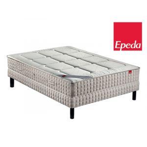 Epeda Ensemble Matelas YUCCA 600 ressorts Confort Medium 140x200