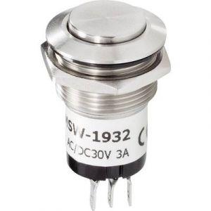 Renkforce Bouton de sonnette 1 prise 1227539 acier inoxydable 24 V/1 A
