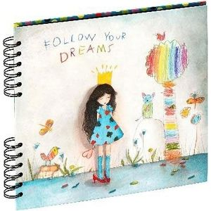 Panodia Album Artistes Mila Follow You Dreams 25x23cm 80V