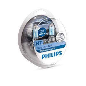 Philips Ampoule halogène WhiteVision, WhiteVision effet xénon H7 55 W