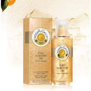 Roger & Gallet Eau sublime Or Bois d'Orange - Eau fraîche parfumée effet lumière pour femme