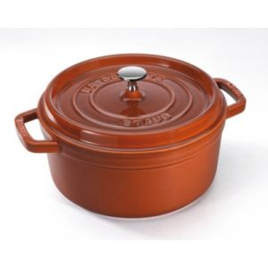 Staub Cocotte ronde, Cannelle