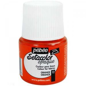 Pebeo Peinture tissu Setacolor 45 ml - opaque - Orange