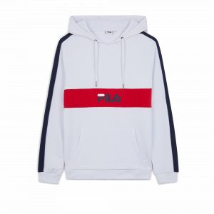 FILA Sweat-shirt - Jeremy Blocket Sweat - Rouge blanc - Taille 36,EU S