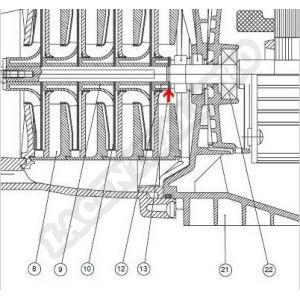 Procopi 977209 - Rondelle de garniture de surpresseur Multipool