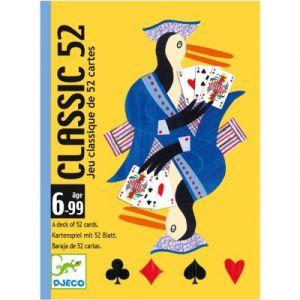Djeco Jeu de cartes Classic 52