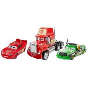 Mattel Pack De 3 Véhicules Racing