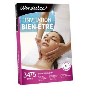 Wonderbox Invitation au bien-être - Coffret cadeau 3475 soins