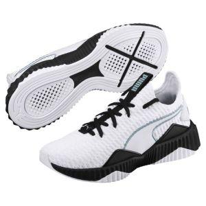Puma Defy Wn's, Chaussures de Fitness Femme, Blanc White Black 03, 37.5 EU