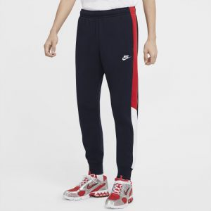 Nike Jogging molleton colorblock Club Bleu, Blanc, Rouge - Taille XL;XS;2XL
