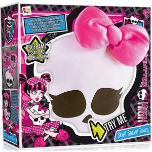 IMC Toys Coussin secret Monster High en forme de crâne