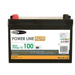 Inovtech Batterie 103Ah Power Line AGM réf. 496178