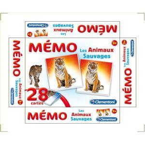 Image de Clementoni Mémo Games Les animaux sauvages