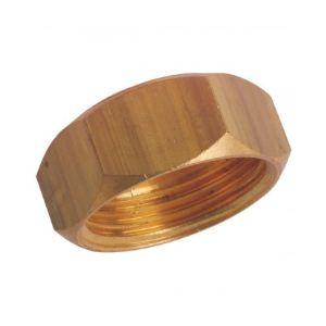 Ecrou collet battu diamètre 18mm filetage 20x27mm