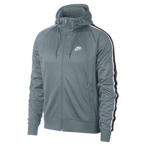 Nike Sweatà capuche à zip Sportswear pour Homme - Gris - Taille L - Male
