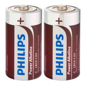 Philips 2 piles C LR14 1.5V Powerlife