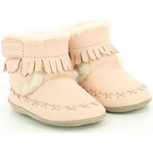 Robeez FUNKYSHOW, Chaussures de Naissance Mixte bébé, (Rose Clair 131), 21/22 EU