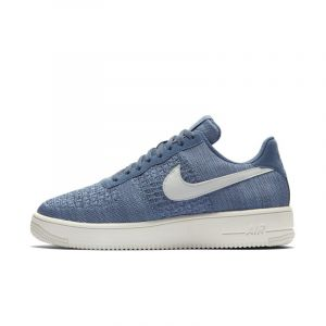 Nike Chaussure Air Force 1 Flyknit 2.0 pour Homme - Bleu - Taille 43