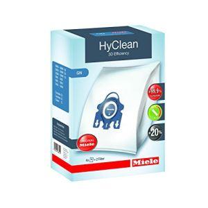Miele 4 sacs GN HyClean 3D + 2 filtres pour aspirateur