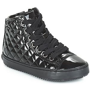 Geox J Kalispera F, Baskets Hautes Fille, Noir (Black), 27 EU