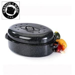 Graniteware Cocotte à enfourner (33 cm)