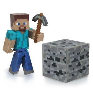 Jazwares Minecraft Steve - Figurine avec accessoires