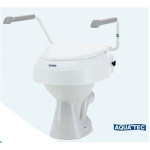 Invacare Rehausseur WC réglable en hauteur AT900