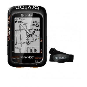 Bryton GPS Rider 450 T Bundle