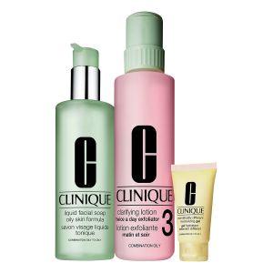 Clinique Basic 3 temps - Kit belle peau Type 3 et 4