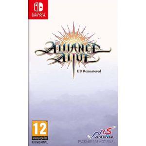 The Alliance Alive HD Remastered Awakening Edition Nintendo Switch [Switch]