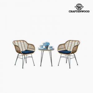 Craftenwood Ensemble Table + 2 Chaises (3 Pcs) By