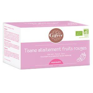 Gifrer Tisane allaitement fruits rouges 20 sachets