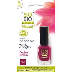 So'Bio Étic 05 Divin Violet - Vernis à ongles Couleur & Soin
