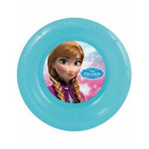 Assiette creuse en plastique réutilisable La Reine des Neiges