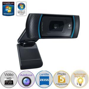 Logitech B910 - Webcam à technologie RightSound