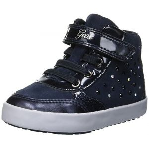 Geox B Kilwi B, Sneakers Basses Bébé Fille, Bleu (Navy C4002), 27 EU