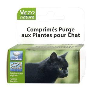 Vetonature Comprimés purge aux plantes pour chat (50 comprimés)