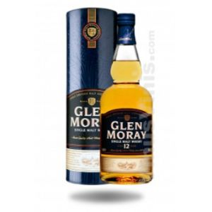 Glen Moray Whisky 12 ans d'âge 70 cl
