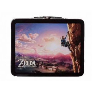 Nintendo Kit Lunch Box Zelda Breath of the Wild Edition Climbing Link pour Switch