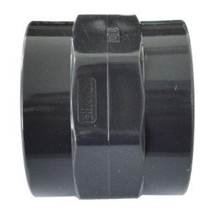 "Centrocom Raccord PVC pression Manchon PVC pression mixte FF &Oslash50-1""""1/2"