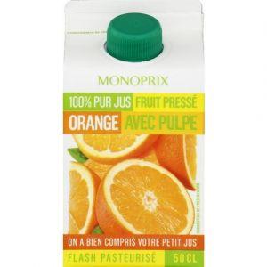 Monoprix Jus d'orange avec pulpe
