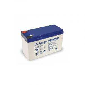 Ultracell Wentronic Batterie au plomb 12 V 7 Ah Faston 187-4,8 mm (Import Allemagne)