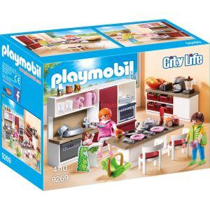 Playmobil 9269 - City Life : Cuisine aménagée