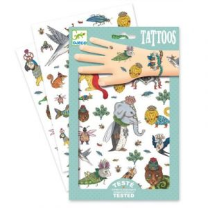 Djeco Tatouages Bestiaire