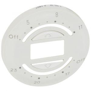 Legrand Enjoliveur Céliane interrupteur avec programmation journalière blanc