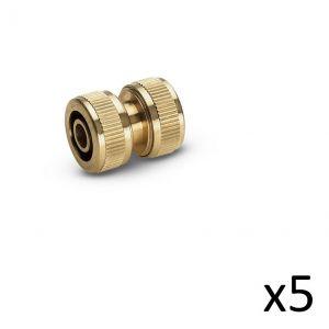 Kärcher Kit de 5 Raccords réparateur laiton 13-15mm - 2.645-102.0