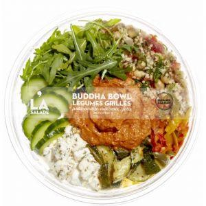 Monoprix Buddha Bowl légumes grillés noix feta - La Salade