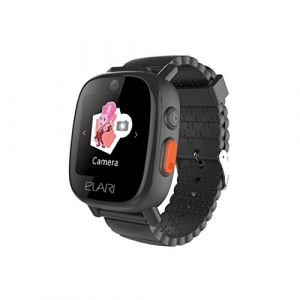 Elari FixiTime 3 Téléphone pour enfants avec GPS LBS WiFi résistant à l'eau avec écran tactile, double caméra et bouton SOS - noir